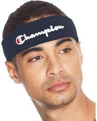 Champion Life Terry Headband - Blue