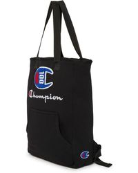 Champion Lifetm 100 Year Shuffle Convertible Tote Backpack - Black