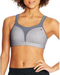 Champion - Spot Comfort® Sports Bra - Lyst
