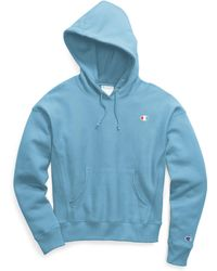 Champion - Life® Reverse Weave® Pullover Hood, C Logo - Lyst