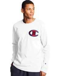 Champion Life Heritage Long-sleeve Tee - White