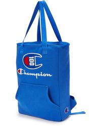 Champion Lifetm 100 Year Shuffle Convertible Tote Backpack - Blue