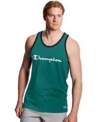 Champion - Athletics Classic Jersey Tank - Lyst