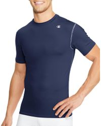 2b1a4033d Lyst - Champion Double Dry® Short-sleeve Compression T Shirt in ...