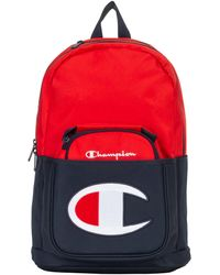 Champion Kids' Life Supercize Backpack With Lunch Kit - Red