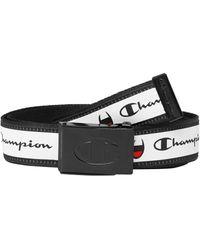 Champion Lifetm Advocate Jacquard Web Belt - White