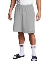 Champion Athletics Powerblend Fleece Shorts - Gray