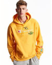 Champion Life Dr. Seuss Reverse Weave Hoodie - Yellow