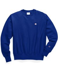 Champion Life® Reverse Weave® Crew - Blue