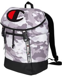 Champion - Life® Prime Grey Camo Top Load Backpack - Lyst
