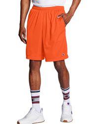 Champion Athletics Mesh Shorts - Orange