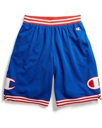 Champion Life Rec Mesh Shorts - Blue