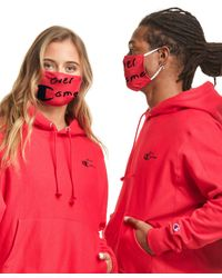 Champion Exclusive Adult Lay Flat Face Mask - Red
