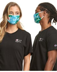 Champion Exclusive Adult Lay Flat Face Mask - Blue