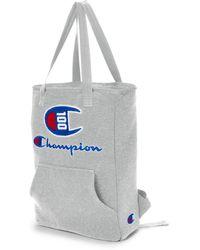 Champion Lifetm 100 Year Shuffle Convertible Tote Backpack - Gray