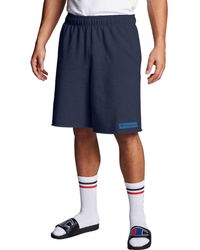 Champion Athletics Powerblend Fleece Shorts - Blue