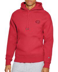 7ad5c224d239 Champion Lifetm Super Hood® 2.0 Men s Full Zip Hoodie in Red for Men ...