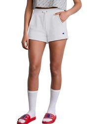 Champion Life Reverse Weave Shorts - White