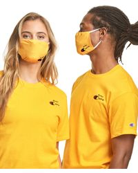 Champion Exclusive Adult Lay Flat Face Mask - Metallic