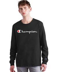 Champion Life Long-sleeve Tee - Black