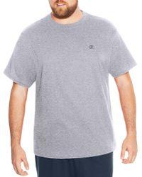 Champion - Big & Tall Short Sleeve Jersey Tee - Lyst