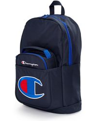 Champion Kids' Life Supercize Backpack With Lunch Kit - Blue