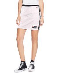 Champion - Lifetm Reversible Mesh Highwaist Skirt - Lyst