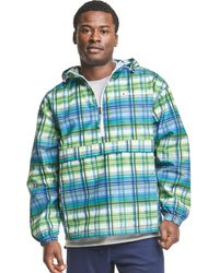 Champion Athletics Packable All Over Print Jacket - Green