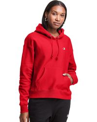 Champion Life Reverse Weave Hoodie - Red