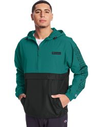 Champion - Athletics Stadium Colorblock Packable Jacket - Lyst