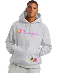 Champion Life Reverse Weave Hoodie - Gray