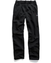 Champion - Powerblend® Fleece Open Bottom Pants - Lyst