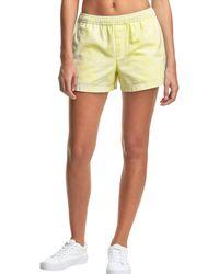 Champion Life Watercolor Dye Twill Shorts - Yellow