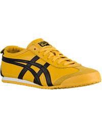asics onitsuka tiger mexico 66 black yellow utility precio