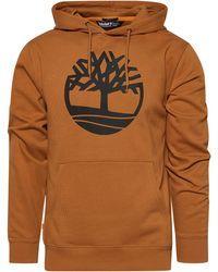 Timberland Core Tree Logo Hoodie - Brown