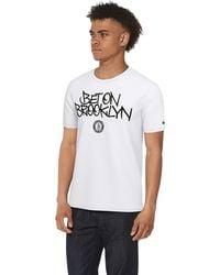b44de8787f30 Champion 'brooklyn' T-shirt in Gray for Men - Lyst