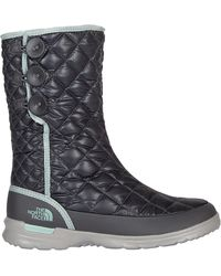 The North Face Thermoball Button-up Outdoor Boots - Black