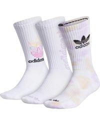 adidas Originals - 3pack Crew Socks - Lyst