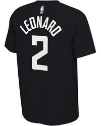 Nike Kawhi Leonard Nba Earned Player T-shirt - Black