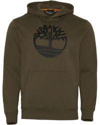 Timberland Core Tree Logo Hoodie - Green