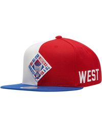 fashion look out for professional sale Mitchell & Ness Synthetic Nba Xl Logo Snapback Cap in Black for ...