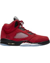 Nike Michael Retro 5 - Basketball Shoes - Red