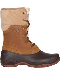 The North Face Shellista Ii Roll Down Outdoor Boots - Brown