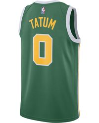 Nike - Jayson Tatum Nba Earned Edition Name & Number Jersey - Lyst