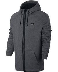 56a9f075 Nike Sportswear Modern Pullover Hoodie in Black for Men - Lyst
