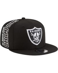 0c7883aa KTZ Oakland Raiders Gridiron 39thirty Cap in Black for Men - Lyst