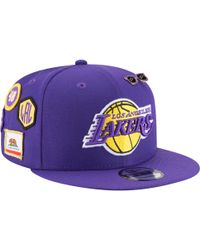 promo code f95ce e7847 KTZ - Los Angeles Lakers Nba 9fifty On Stage Cap - Lyst