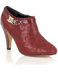 Lotus - Jacaranda Womens High Cut Court Shoes - Lyst