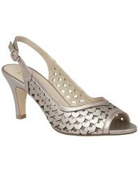 Lotus - Canaan Womens Sling Back Peep Toe Sandals - Lyst