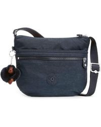 Kipling Arto Womens Messenger Handbag - Blue